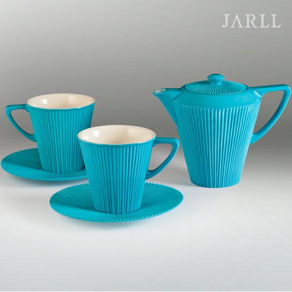 讚爾藝術:讚爾藝術JARLL時尚生活線條杯壺組(藍)新居升官喬遷結婚送禮IKEA風格