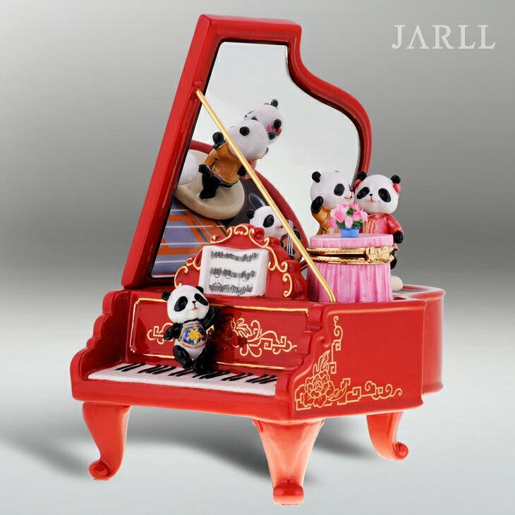 讚爾藝術 JARLL 熊貓鋼琴 音樂盒 生日禮物 居家擺飾