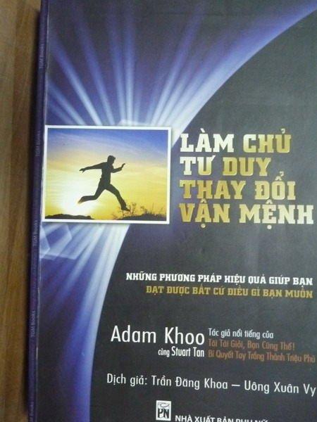 【書寶二手書T4/勵志_PMH】Lam Chu Tu Duy,Thay Doi Van Menh