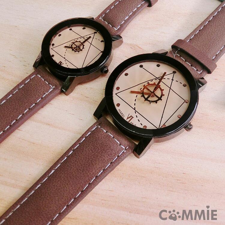 手錶-達文西的藝術圖騰情侶手錶.寶貝窩 .【WH4002】(現+預)