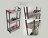LOFT原木工業風三層縫隙架 餐架 隙縫架 浴室架 廚房架 台灣製造 [tidy house]TDSB401973WB 2