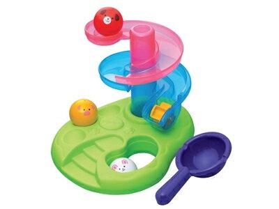 日本樂雅 Toy Royal 戲水動物滑球塔