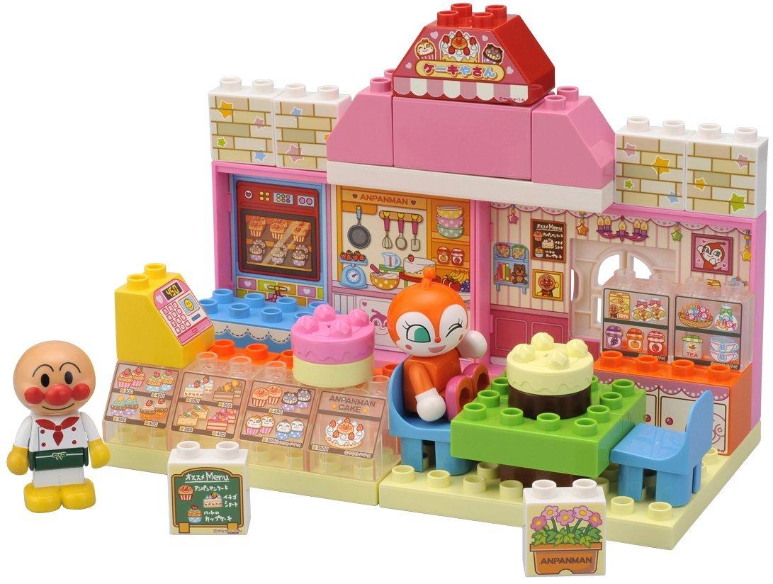 麵包超人積木玩具-蛋糕店,兒童玩具/益智玩具,X射線【C816665】
