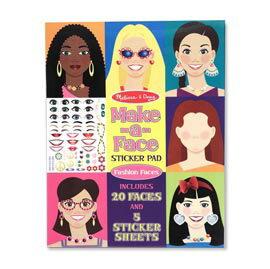 【悅兒樂婦幼用品舘】美國瑪莉莎 Melissa & Doug 學習貼貼樂-臉部認知