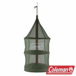 Coleman 魔術掛網II/綠 CM-26811 露營|戶外碗籃|餐廚籃|餐具吊籃 吊網