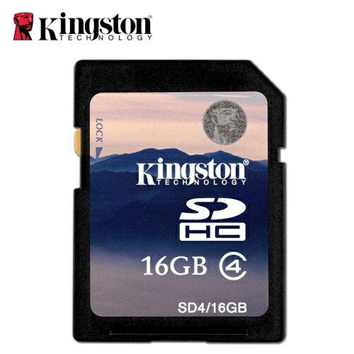 Kingston 金士頓 R4~SDHC~C4~16G 記憶卡