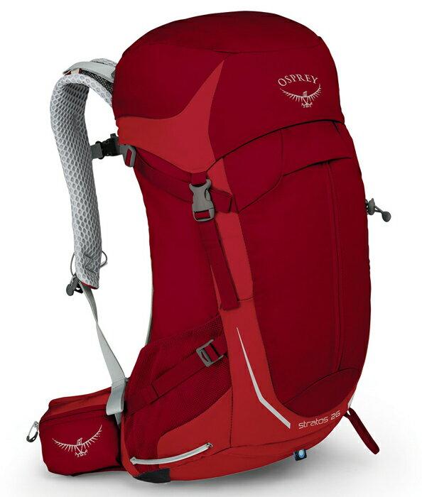 【鄉野情戶外用品店】 Osprey |美國| STRATOS 26 登山背包《男款》/透氣網架 自助旅行背包 健行背包/Stratos26 【容量26L】