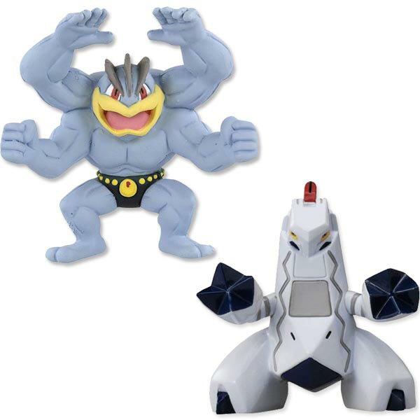 【Fun心玩】正版 精靈 寶可夢 日本 公仔 神奇寶貝 模型 PC16384 #82 鋁鋼龍 PC15460 #79 怪力