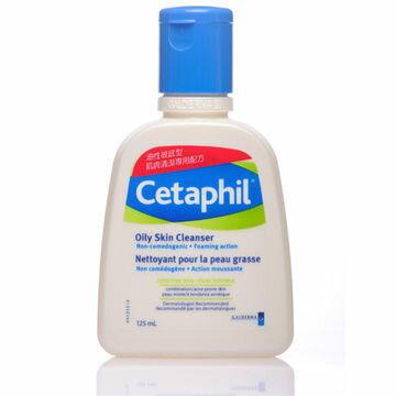 Cetaphil舒特膚 油性肌膚專用溫和潔膚乳 125ml [橘子藥美麗]