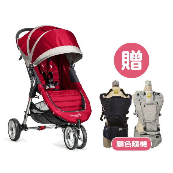 Baby jogger - City mini 輕運動推車 - 紅【贈lillebaby Seat Me 座凳型揹巾】【悅兒園婦幼生活館】 1