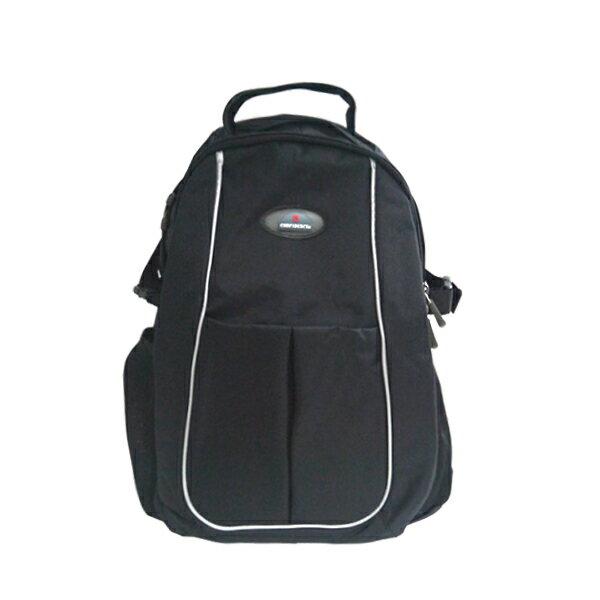 加賀皮件CONFIDENCE台灣製造多拉鍊袋氣墊背帶防潑水後背包CB5982