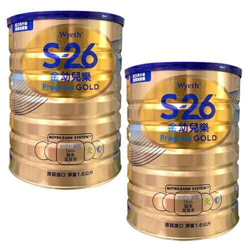 惠氏金幼兒樂 升級金配方1.6kg 2入【德芳保健藥妝】 0