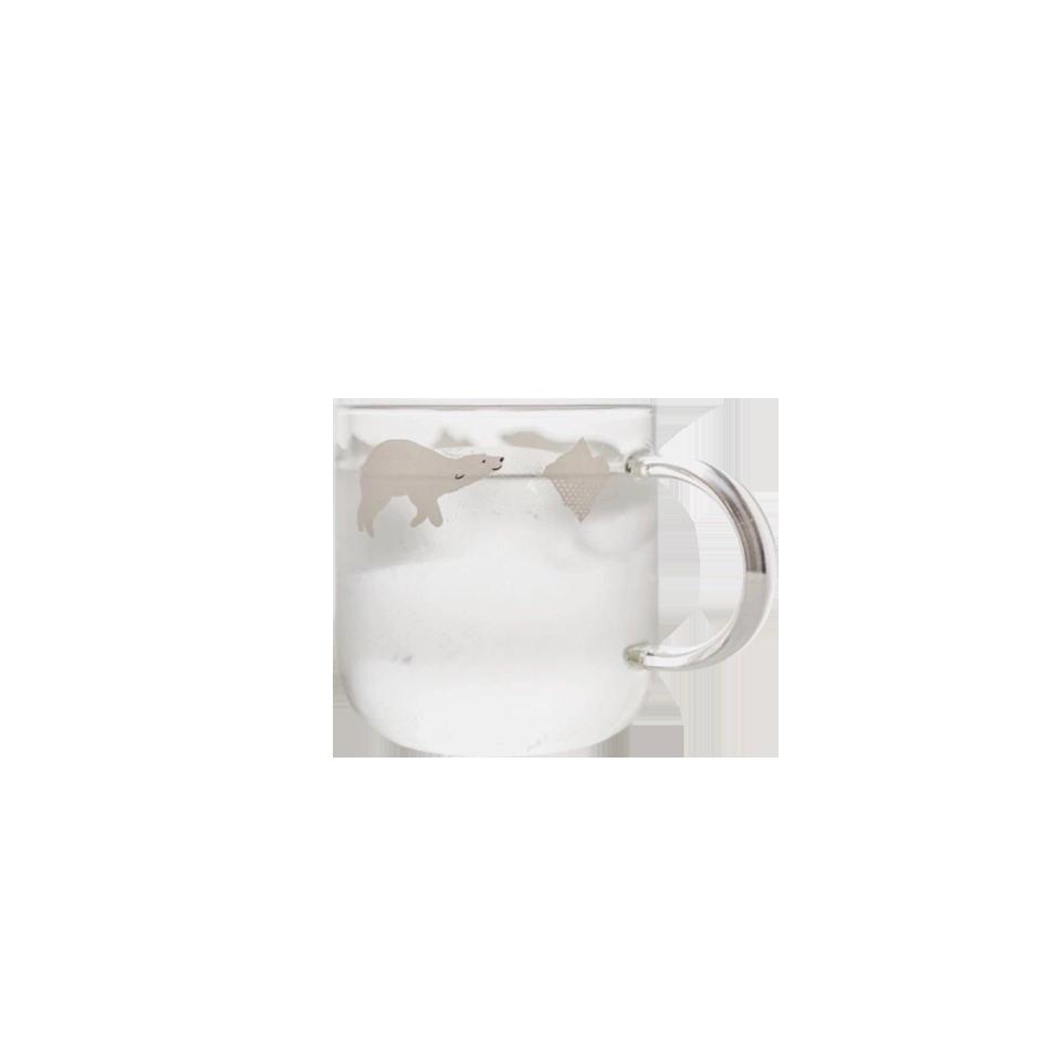 極地玻璃杯(北極熊)