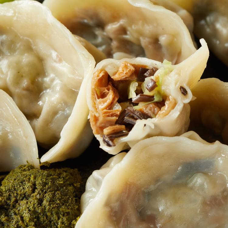 香椿水餃 素食   12粒裝 美味水餃 新鮮食材 製作