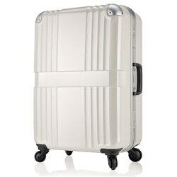 日本 LEGEND WALKER 6020-68-28吋 鋁框輕量行李箱 碳纖白