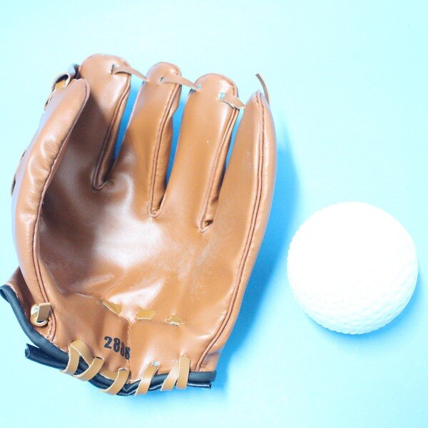 小兒童棒球手套 + 軟式安全棒球/一組入{促199}~國小以下適用~群