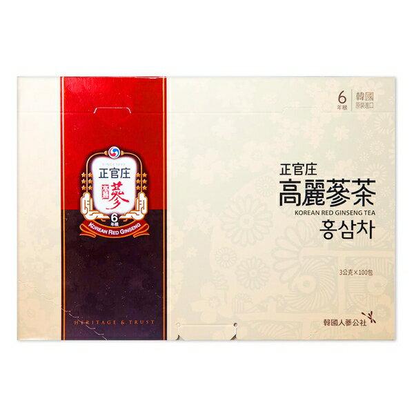 正官庄 高麗蔘茶(100包/盒)x1