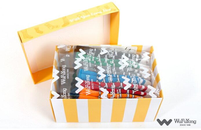 【吳福洋】兒童指無痕船型襪禮盒 (6入聖誕節禮盒 / 彌月禮盒) - 附精美提袋