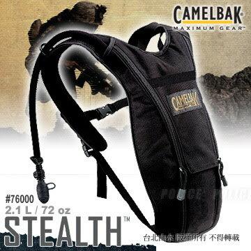 Camelbak 水袋背包/生存遊戲軍品/吸管水袋背包 Stealth 2L 76000-1 黑色