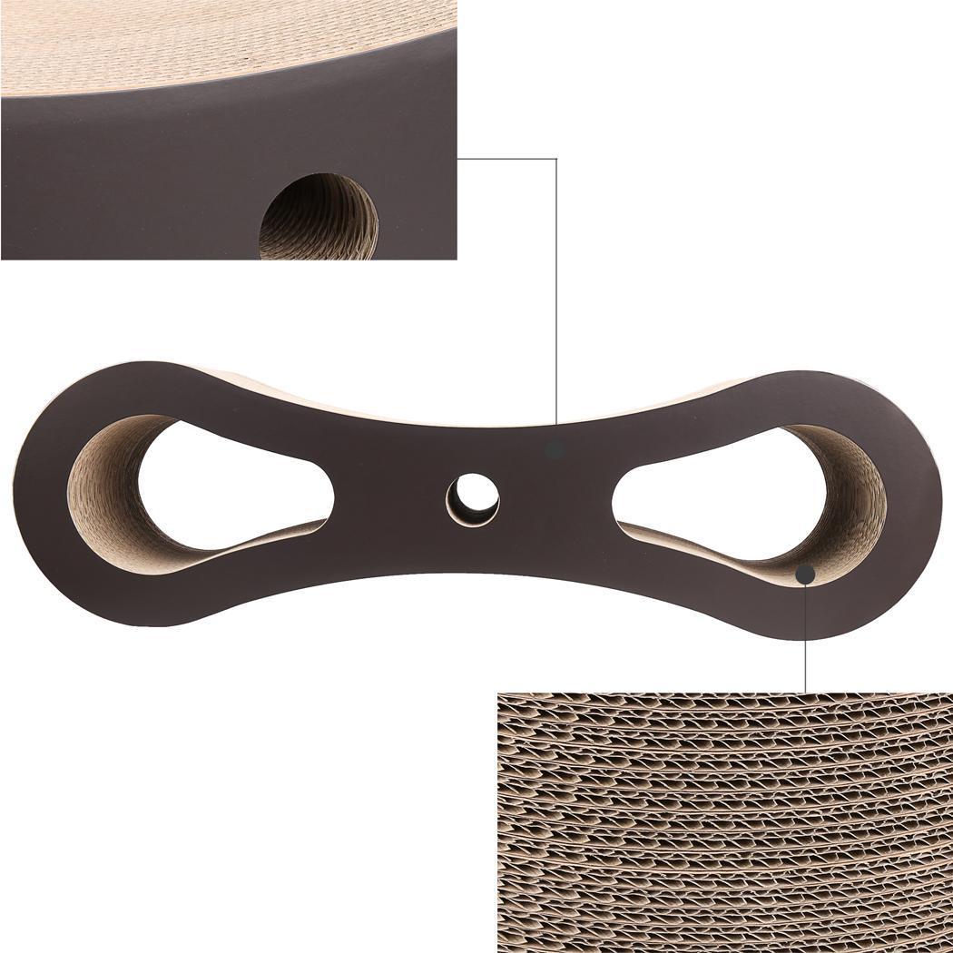 Cat Scratcher Lounge Bed Corrugated Cardboard 4