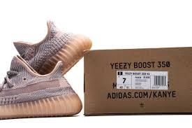 KUMO SHOES-Adidas Yeezy Boost 350 V2 Symth 粉 灰 女鞋 鞋帶反光 亞洲 限定 FV5578