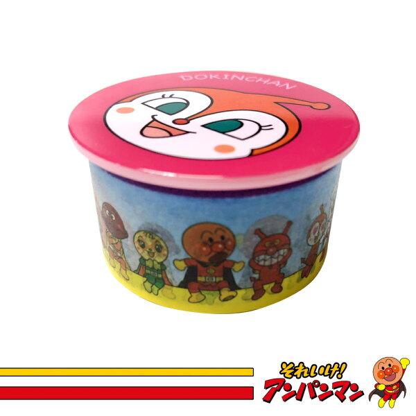 麵包超人紙膠帶附磁鐵收納架(小病毒)日本進口正版300558