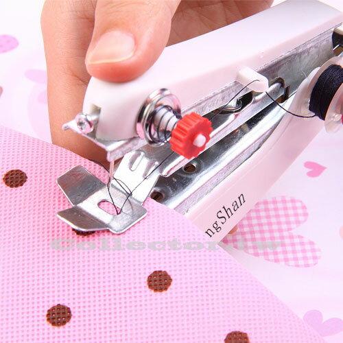 【F16032701】袖珍型手動縫紉機 可愛迷你縫紉機 小巧便攜式縫紉機