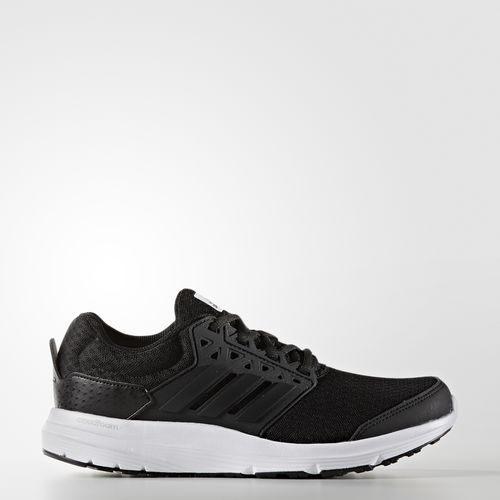 ADIDAS GALAXY 3 W 女鞋 慢跑鞋 輕量 緩震 透氣 黑 白 【運動世界】 AQ6555