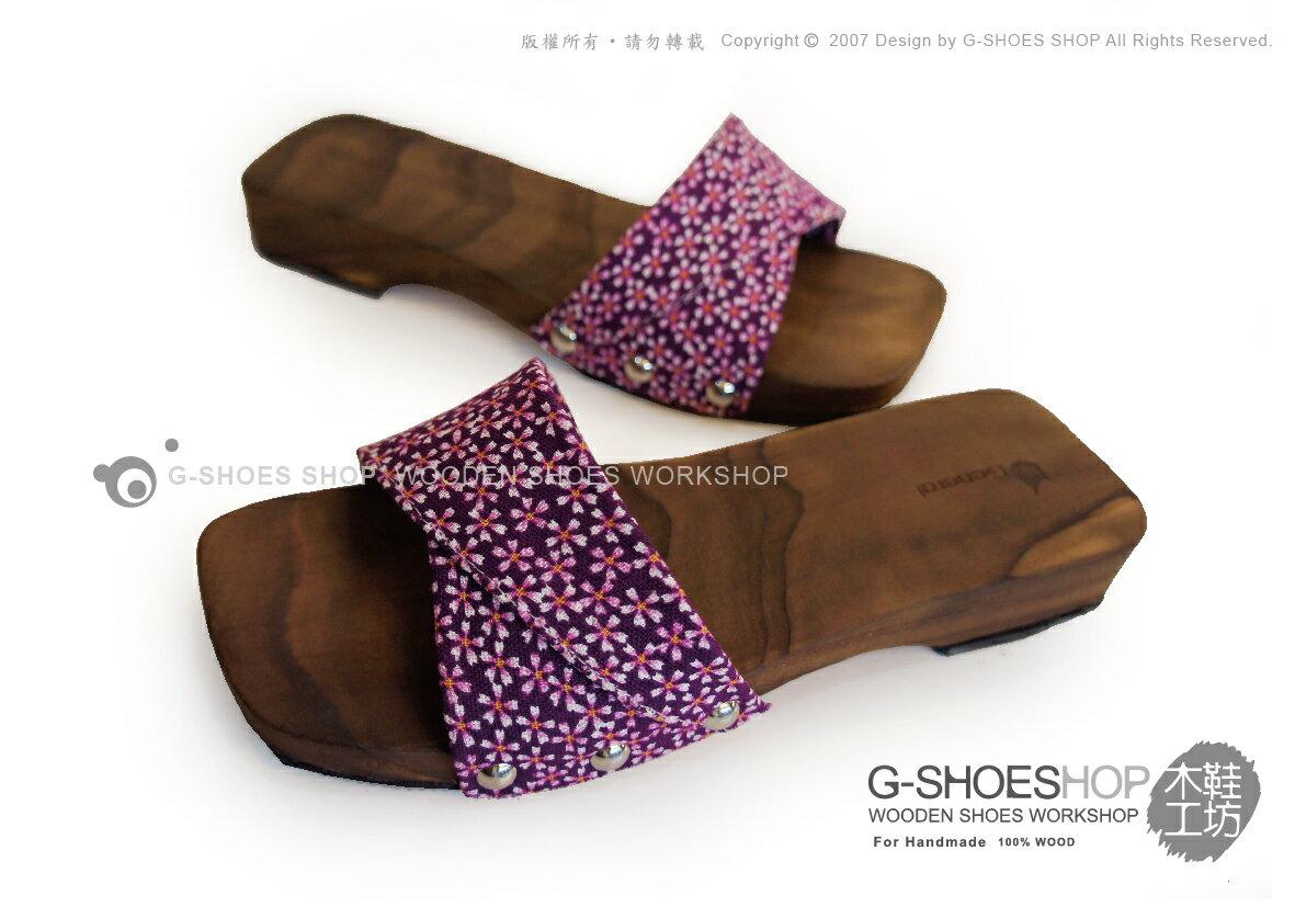 ◎g-shoes shop ◎**木屐**D05011-19方頭平底鞋(吸濕排汗)