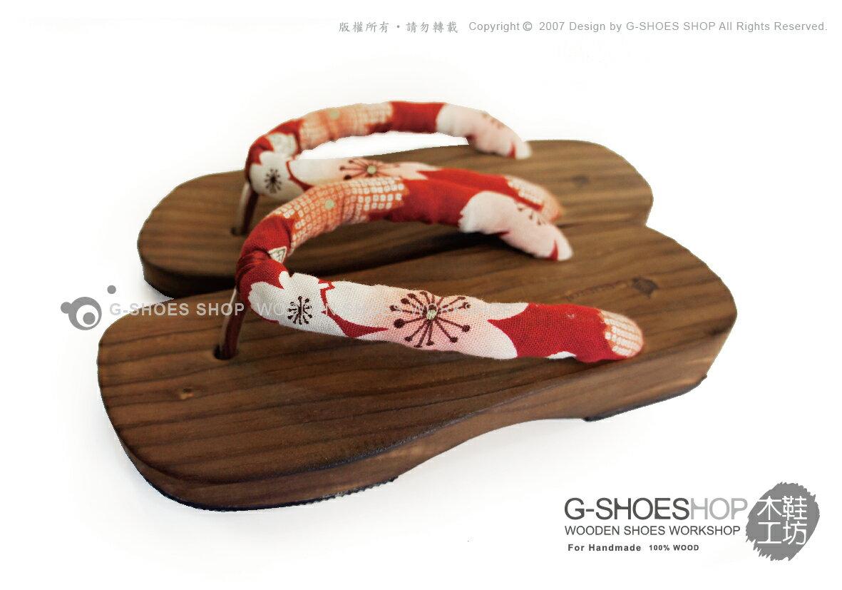 ~G~SHOES 木鞋工坊 ~^~^~木屐^~^~ D05031~39男女皆可穿夾鞋木屐拖