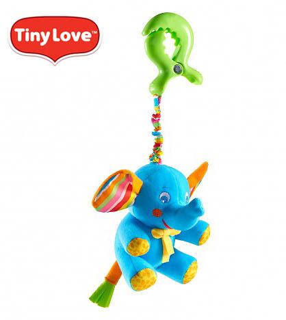 ~ 破盤59折~~安琪兒~美國~Tiny Love~快樂同伴玩偶~大象