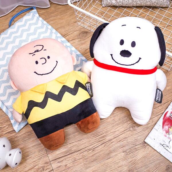 PGS7日本史努比系列商品-史努比史奴比SnoopyMocchi史努比娃娃(M號)查理布朗【SJ2A71114】