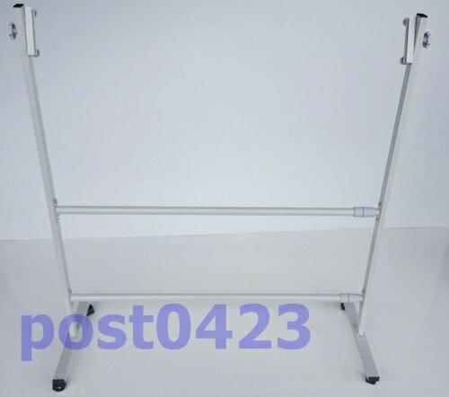 【小工人】雙桿式100*200cm伸縮式廣告看板架 廣告板 彩繪板 白板架 大型版面專用腳架