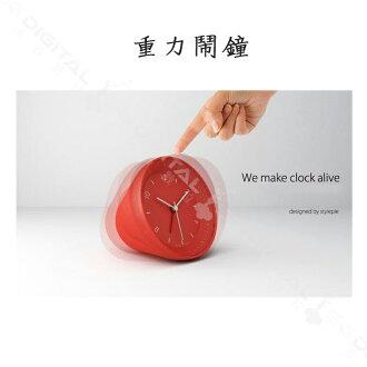 香港風格派正品 果凍重力鬧鐘 創意重力感應鬧鈴控制 簡約學生時鐘個座鐘禮物