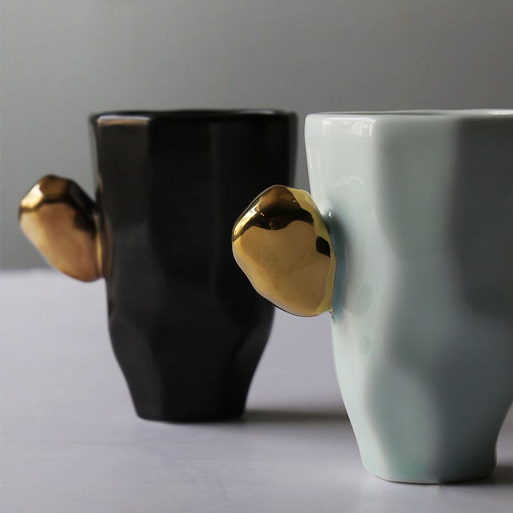 涉谷嚴選‧陶瓷茶杯個性杯日式杯子馬克杯咖啡杯簡約情侶杯牛奶水杯 - 限時優惠好康折扣