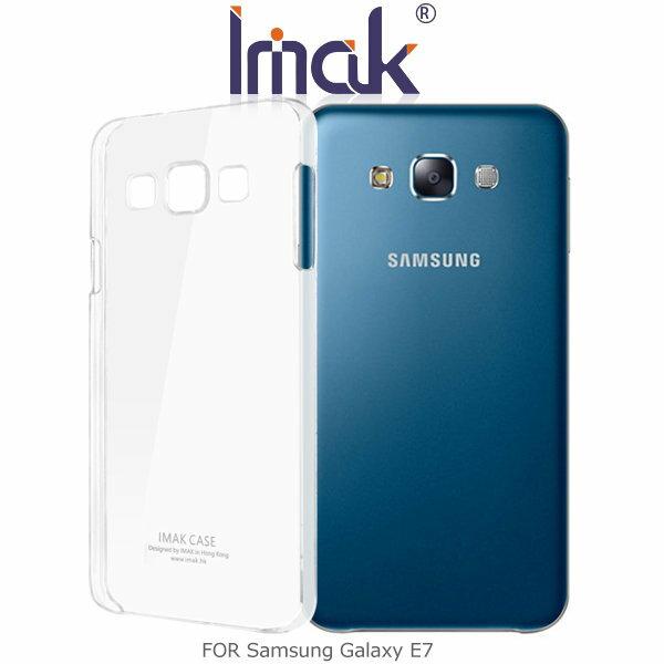 ^~斯瑪鋒科技^~IMAK Samsung Galaxy E7 羽翼水晶保護殼 透明保護殼