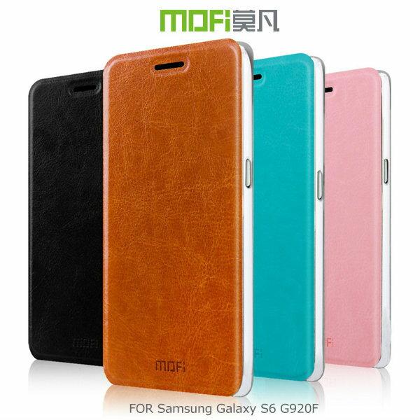 MOFI 莫凡 Samsung Galaxy S6 G920F 睿系列側翻皮套 保護殼 保護套~斯瑪鋒科技~