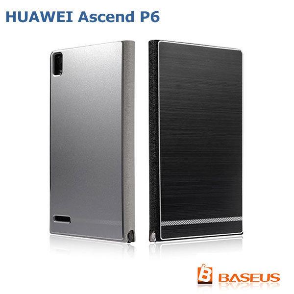 --斯瑪鋒數位--BASEUS 倍思 HUAWEI Ascend P6 尚品超薄皮套 側翻皮套 拉絲皮套 保護套