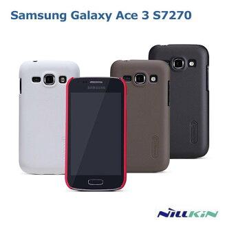--斯瑪鋒數位--NILLKIN Samsung S7270 Galaxy Ace 3 超級護盾硬質保護殼 磨砂硬殼 抗指紋保護套