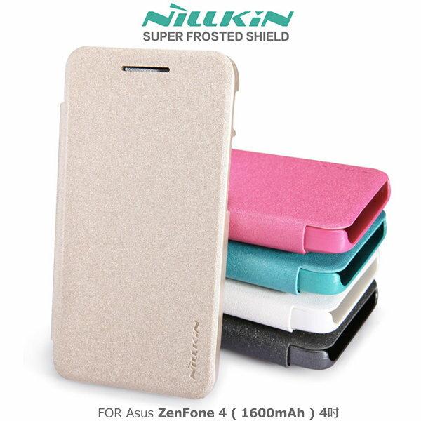 ~斯瑪鋒科技~NILLKINAsusZenFone4(1600mAh)4吋星韵系列皮套側翻皮套保護套保護殼手機套