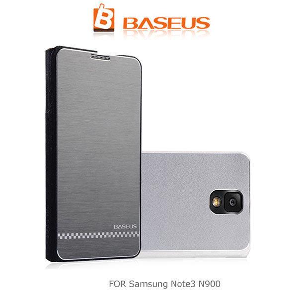 --斯瑪鋒數位--BASEUS 倍思 Samsung N900 Galaxy Note 3 尚品超薄皮套 側翻皮套 拉絲皮套 保護套