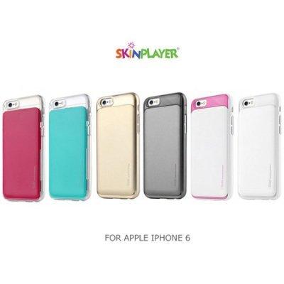 ~斯瑪鋒科技~ SKINPLAYER APPLE IPHONE 6 4.7吋 I-Slide系列悠遊卡背蓋 可插雙卡