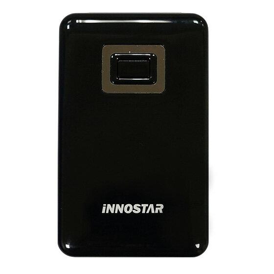 【行動電源】iNNOSTAR PC5588 馬卡龍繽紛色系移動電源(5500mAh)(黑)公司貨