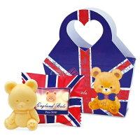 婚禮小物推薦到一定要幸福哦~~英國貝爾-熊熊抗菌皂50g-英旗款, 婚禮小物,送客禮,姐妹禮