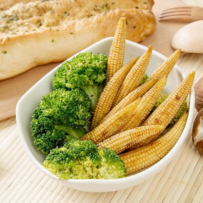 【臻美蔬果】帶殼玉米筍