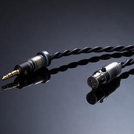 志達電子 黑曜石-mini XLR 「黑曜石 Obsidian Cable 」 手工自製 耳機線 升級線 (AKG PIONEER 等 適用 K240 K271 K702 HDJ-2000)