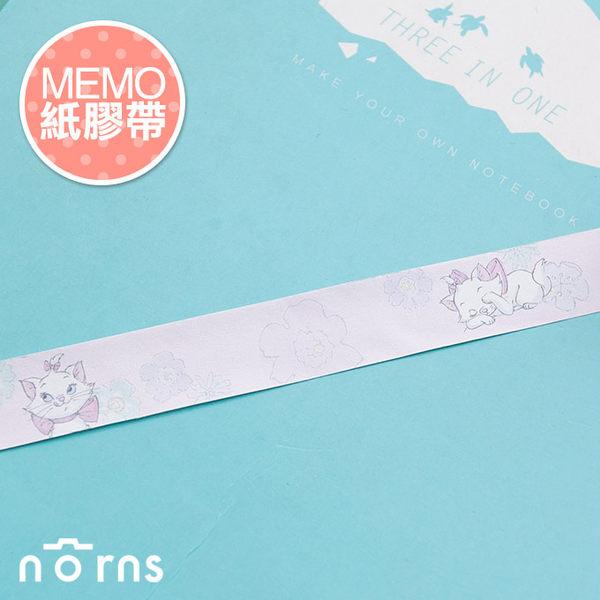 NORNS ~MEMO紙膠帶~瑪麗貓~迪士尼 Bambi 筆記 留言 裝飾貼紙
