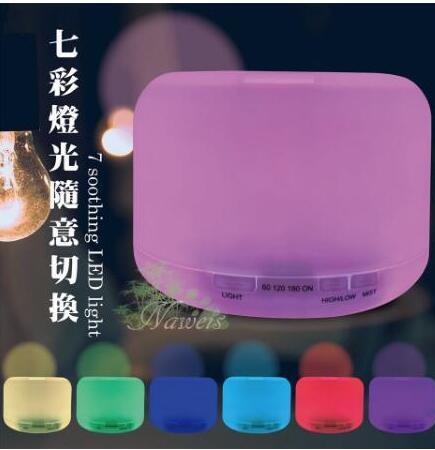 日系水氧機500ml 空氣加濕器 精油燈 小夜燈 薰香機 香薰機 靜音噴霧機 清涼一夏钜惠