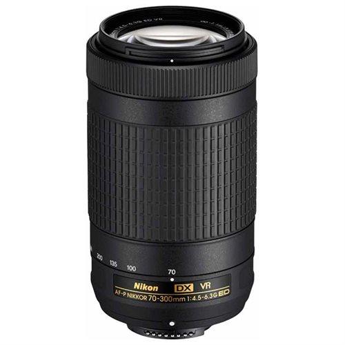 Nikon Nikkor 70-300mm f/4.5-6.3G AF-P DX VR Lens 0