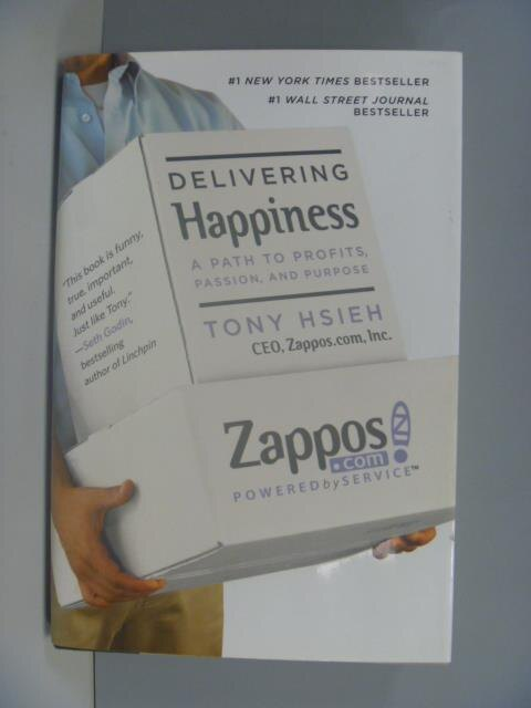 ~書寶 書T5/財經企管_ZDX~Delivering happiness_Tony Hs